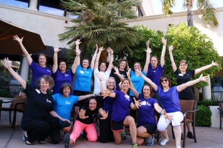 2013 PWR! retreat helpers. Joan shared this photo with us.