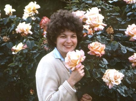 1978, My Irish roses in Belfast, Ireland.