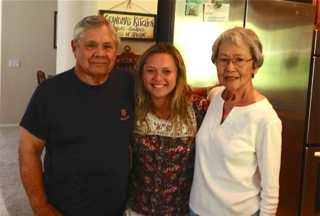 jordy Pascual and her grandparents