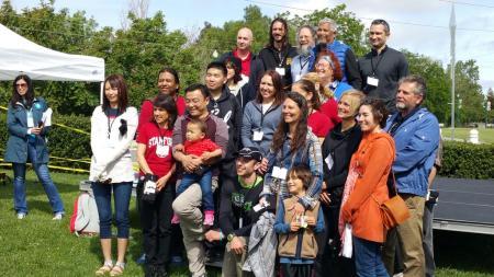 Parkinson's Pioneers 2015 photo courtesy of Faith Kreitzer