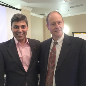 Dr. Rohit Dhall and Dr. Jaimie Henderson