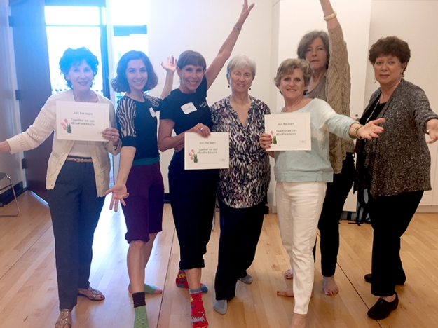 Members of Inspired Women with Parkinson's in Los Angeles